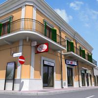 3d model building architectural