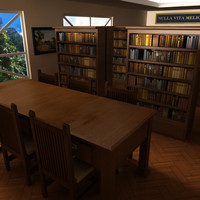 3dsmax interior library