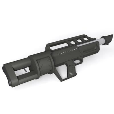 Jackhammer shotgun