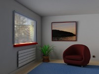 cinema4d interior design