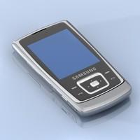 samsung sgh e840 mobile phone 3d model