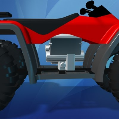 toy atv terrain vehicle max - Toy All Terrain Vehicle (ATV)... by Maness Allen Modeling