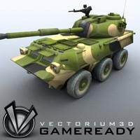 chinese wheeled assault gun 3ds