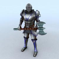 3dsmax medieval knight