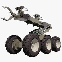 Defender Bomb Disposal Robot