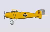 albatros 3d model