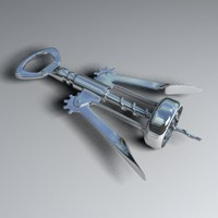corkscrew 3d max