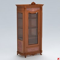 cabinet display 3d 3ds