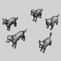 puppy dogs pug 3d model