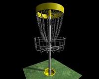 3d disk golf model