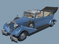 Horch 830BL open top