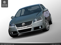 3ds max jetta bora sedan