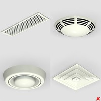 ceiling vents 3ds