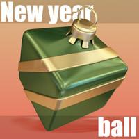 maya decorative christmas ball