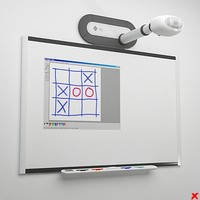 3ds max whiteboard board