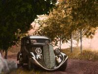 willys overland sedan 1935
