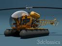 amphibious helicopter 3D models