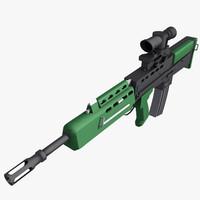 l85a1 rifle x