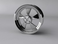 alloy wheel 3ds