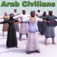 Arab Civilins x8 Game