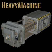 heavy industrial 3ds