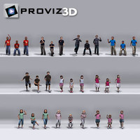 3D People: Still Children Vol. 02