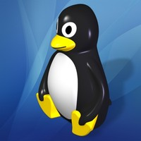 toy penguin 3d model