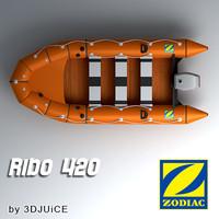 3d zodiac ribo 420