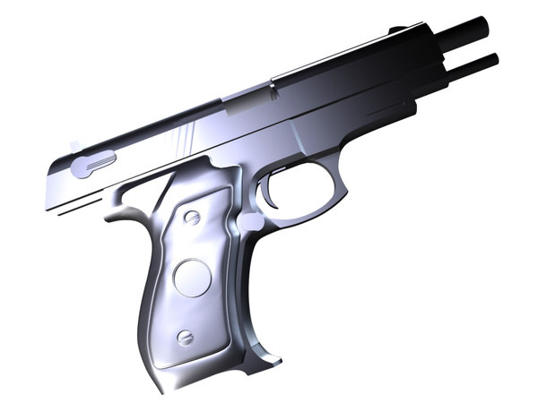3d beretta pistol model - Beretta... by Mark S.