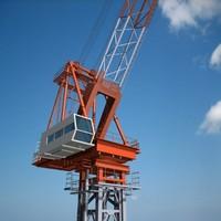 3d max tower crane