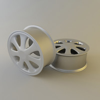 3ds max disk wheel