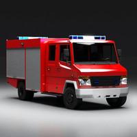 Euro Fire Truck