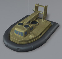 sk5 hovercraft 3d model