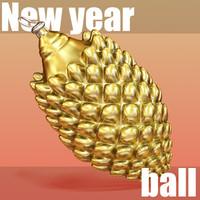 3d NY Ball 03.rar