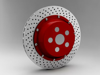 3d brake disk