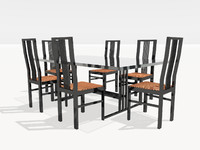 table chairs dwg