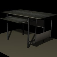 computer table 3ds