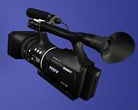 sony v1p 3d model