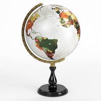 classic globe 3d 3ds
