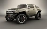 3ds max hummer hx concept car