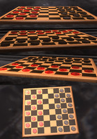 3d checkers set