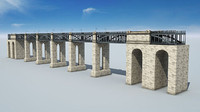 level bridge 3d c4d