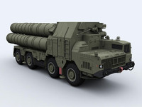 S-300PMU surface-to-air missile system