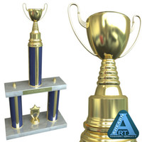3d 3ds trophy school