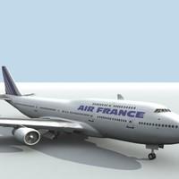 3ds b 747-400 air france