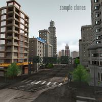 city module 3d lwo