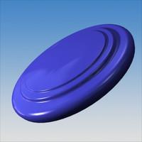 3d frisbee model