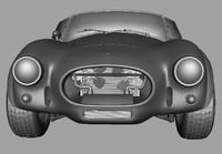 3d model shelby cobra
