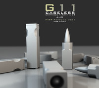 g11 caseless ammunition 3d model