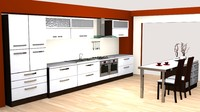 High detailed modern modular Kitchen